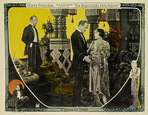 The Impossible Mrs. Bellew - lobby card