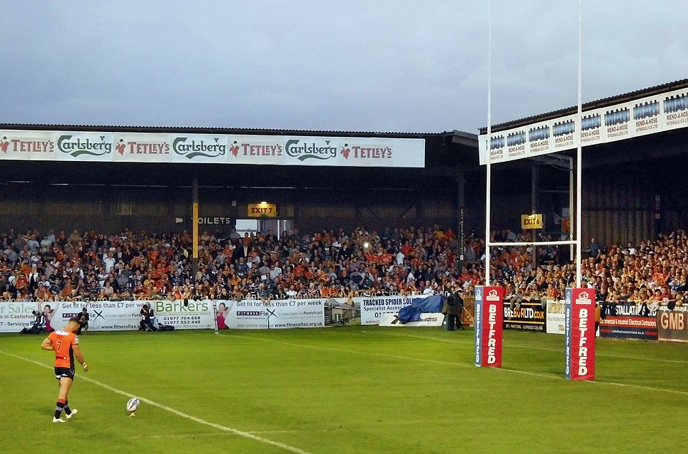 The Jungle Castleford Tigers Rugby league Ground (geograph 5648191)