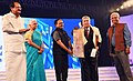 The Master Film Maker from Republic of Korea, Mr. Im Kwon Taek being conferred the Life Time Achievement Award, at the inauguration of the 47th International Film Festival of India (IFFI-2016), in Panaji, Goa.jpg