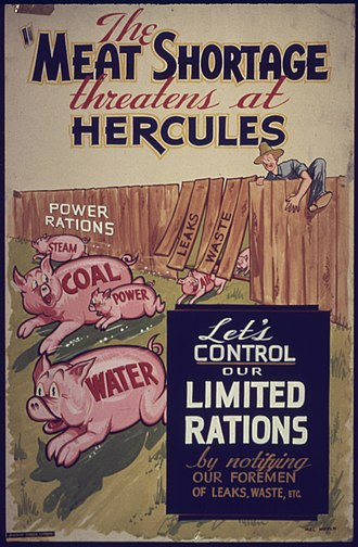 Hercules Inc. - WWII poster from Hercules