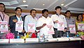 "The Minister of Health, Tamil Nadu, Dr. C.N. Vijaya Bhaskar releasing a book on ""Mission Indhradhanush Special Campaign - 2015"", in Chennai. The Secretary, Health & Family Welfare, Tamil Nadu, Dr. J. Radhakrishnan.jpg"