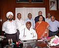 The Minister of State for Railways, Shri K.H. Muniyappa with the Board Members after taking over the charge, in New Delhi on June 01, 2009.jpg