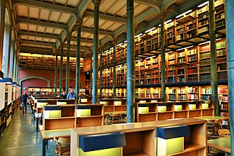 National Library of Sweden - The main reading hall is well worth a visit