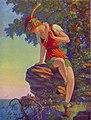 The Paradise of Peter Pan, print of painting by Edward Mason Eggleston, 1932.jpg
