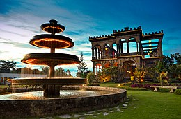 The Ruins in Talisay, Negros Occidental at Dusk.jpg