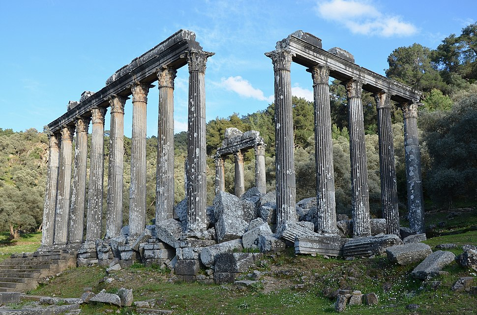 The Temple of Zeus Lepsinos at Euromus