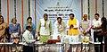 The Union Minister for Urban Development, Housing & Urban Poverty Alleviation and Information & Broadcasting, Shri M. Venkaiah Naidu launching the Regional News Unit Dehradun DD News Bulletin, at Dehradun.jpg