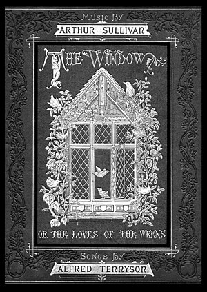 The Window (song cycle) - Image: The Window; or, The Songs of the Wrens Cover