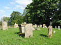 The graveyard of Whitfield Church (2) - geograph.org.uk - 844734.jpg
