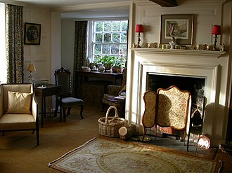 Shandy Hall - Image: The parlour at Shandy Hall
