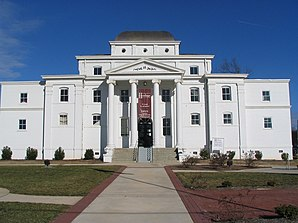 Wilkes County Courthouse (2007), einer von 22 Einträgen des Countys im National Register of Historic Places