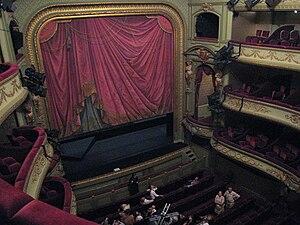 Théâtre Royal du Parc - Stage and auditorium of the theatre