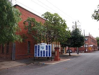 University of Adelaide - Stirling Street entrance to the University of Adelaide's Thebarton Campus