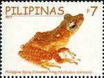 Theloderma spinosum 2011 stamp of the Philippines.jpg