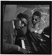 Thelonious Monk and Howard McGhee, Minton's Playhouse , Sept 1947 (Gottlieb 10248).jpg