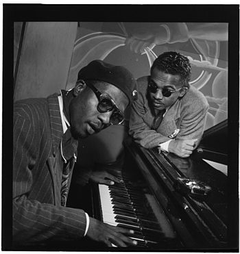 English: Thelonious Monk and Howard McGhee at ...