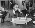 Theodore R. Poston, head of the Negro Press Section, Office of War Information, ca. 1941 - ca. 1945 - NARA - 535824.tif