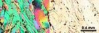 Thin section microscopy Siilinjärvi H10 phlogopite.jpg