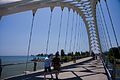 This Humber River bridge spans the river where it joins Lake Ontario -c.jpg