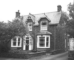 T. E. Lawrence - Lawrence's birthplace, Gorphwysfa, Tremadog, Carnarvonshire, Wales