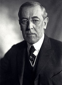 PUBLICATIONS RELATED Woodrow Wilson Our Last Frontier [Appalachia] - Thomas Woodrow Wilson, Harris & Ewing bw photo portrait, 1919 (cropped)