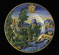 Three Deep Dishes with Landscapes and Arms of the Salviati Family LACMA 50.9.16.1-.3 (2 of 4).jpg