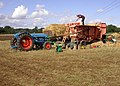 Threshing-machine Operated by a Tractor - geograph.org.uk - 227949.jpg