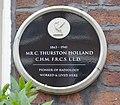 Thurston Holland plaque, 43 Rodney Street, Liverpool.jpg