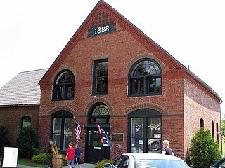 Ticonderoga Pulp and Paper Company Office