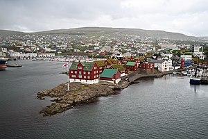Tórshavn - Tinganes, Tórshavn old town