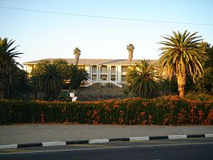 Politics of Namibia - Parliament of Namibia.