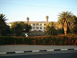 Politics of Namibia - Parliament of Namibia.