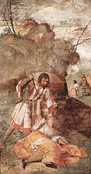 Titian: Miracle of the Jealous Husband
