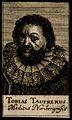 Tobias Taufrer. Line engraving, 1688. Wellcome V0005738.jpg