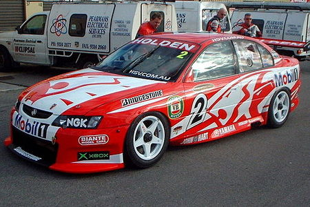 Todd Kelly's 2003 Holden VY Commodore Todd Kelly Barbagello.jpg