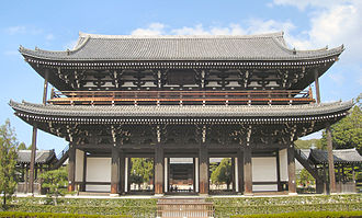 Tōfuku-ji - The main gate