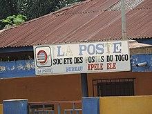 Société des postes du togo u2014 wikipédia