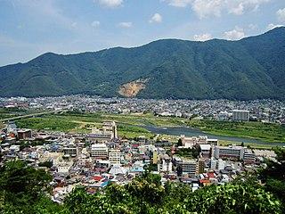 Chikuma, Nagano City in Chūbu, Japan