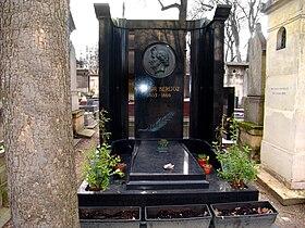 Tombe de Hector Berlioz–Cimetière de Montmartre-Paris