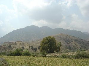 Tora Bora Mountains in Afghanistan