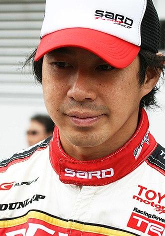 Toranosuke Takagi - In 2008, as a Super GT driver