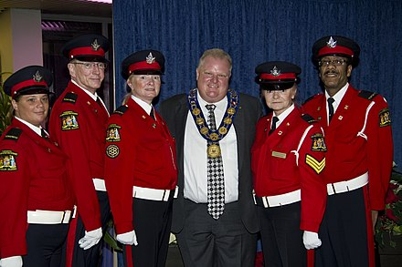Ford at the annual Mayor's New Year's Levee at Toronto City Hall. Toronto new years levee 2012 (2).jpg