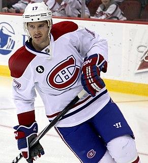 Torrey Mitchell Canadian ice hockey player