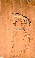 Toulouse-Lautrec - PROFIL DE FEMME EN BUSTE, 1901, MTL.214.jpg