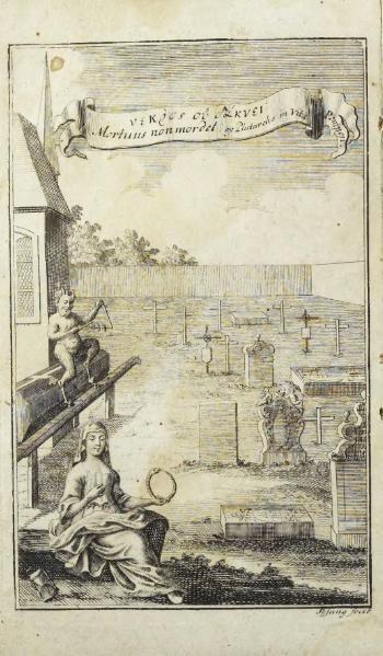 File:Tractat von dem Kauen und Schmatzen der Todten in Gräbern - Frontispiz, Widmung und Einleitung.djvu