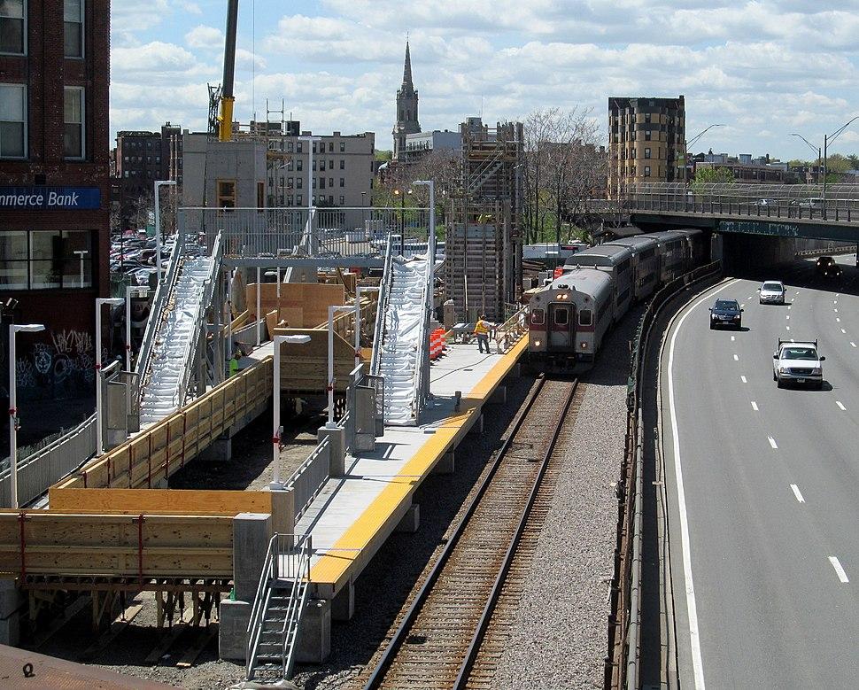 Train at Yawkey May 2013
