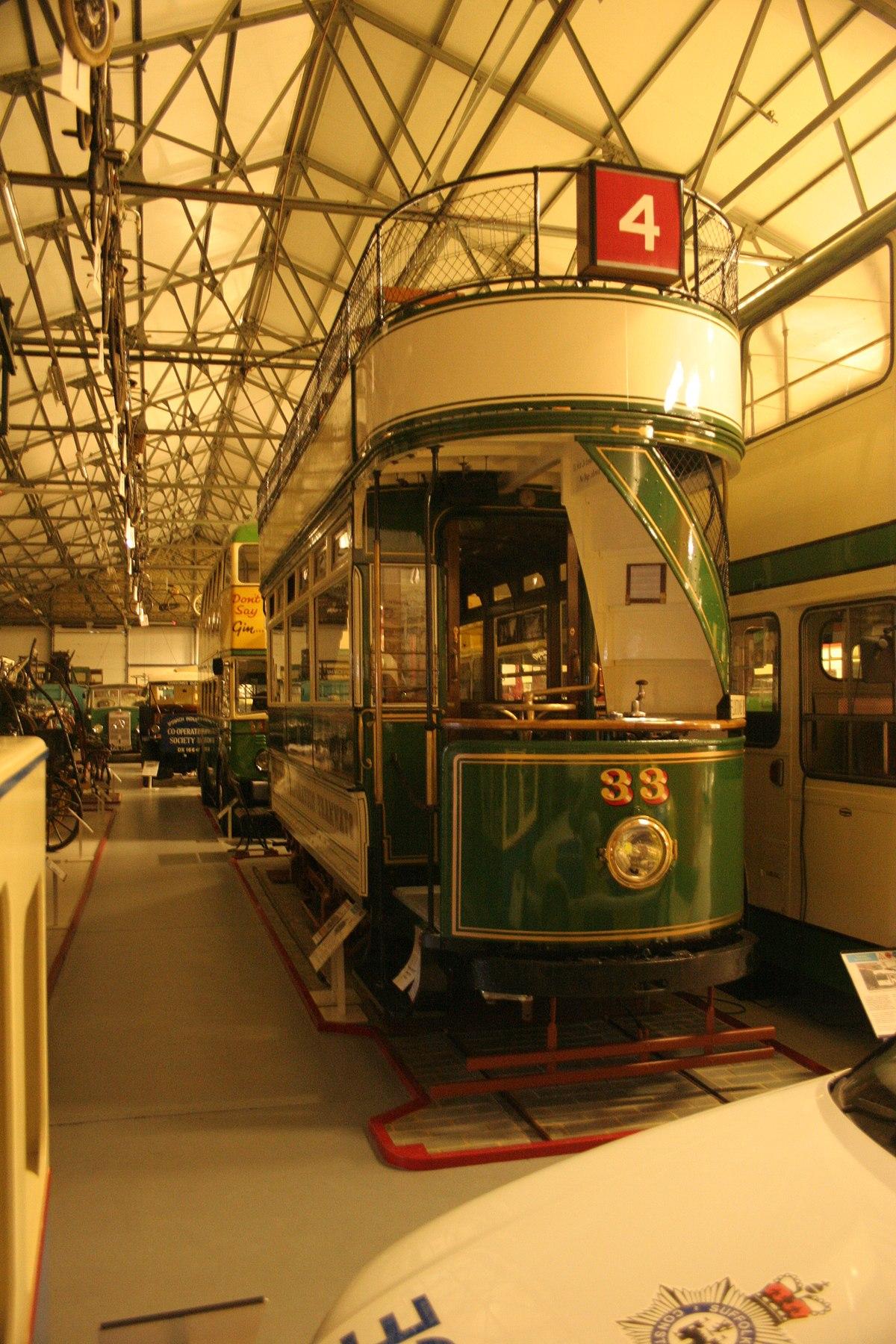 Ipswich Transport Museum - Wikipedia
