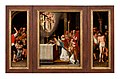 Triptych with the Mass of Saint Gregory Flemish School Limburgs Museum L39731.jpg