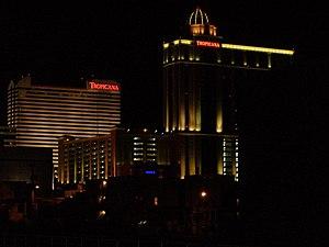 Tropicana Casino & Resort Atlantic City - Tropicana at night