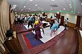 Trunk Movement - Loosening Practice - International Day of Yoga Celebration - NCSM - Kolkata 2015-06-21 7294.JPG